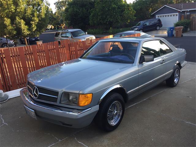 1983 Mercedes-Benz 380SEC