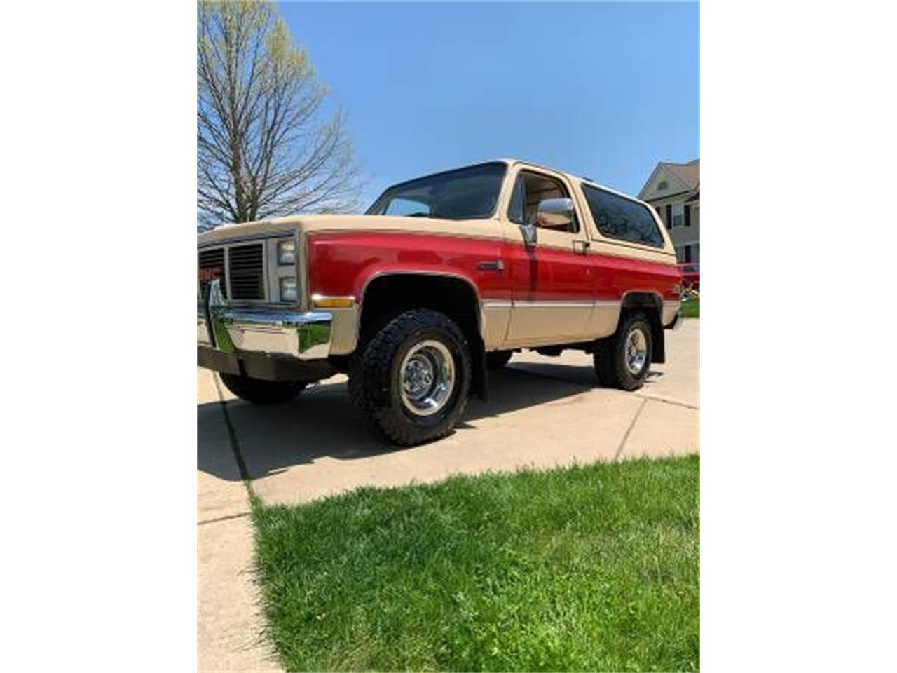 1987 GMC Jimmy (CC-1260459) for sale in Cadillac, Michigan