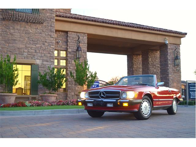 1989 Mercedes-Benz 560SL (CC-1264601) for sale in Chandler , Arizona