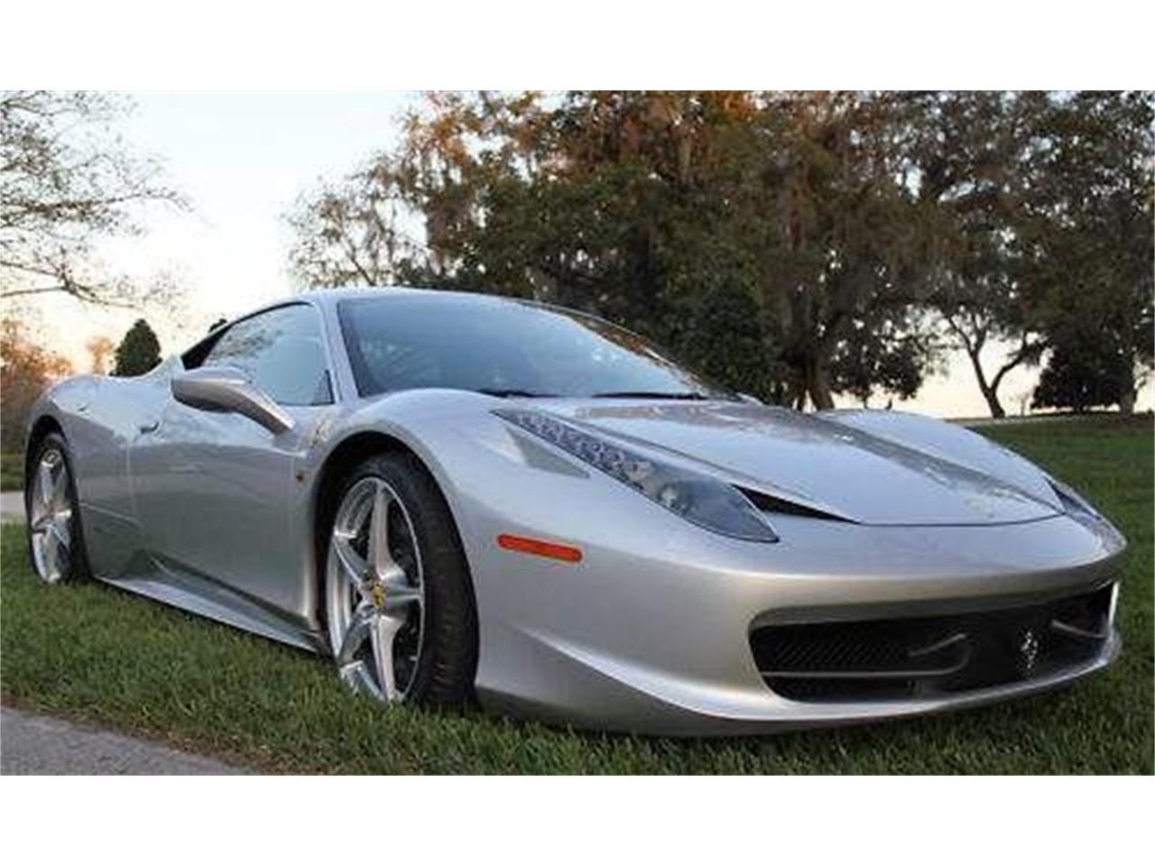 2011 Ferrari 458 Italia (CC-1264677) for sale in Cadillac, Michigan