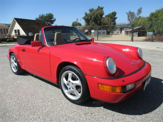 1991 Porsche Carrera (CC-1265073) for sale in SIMI VALLEY, California