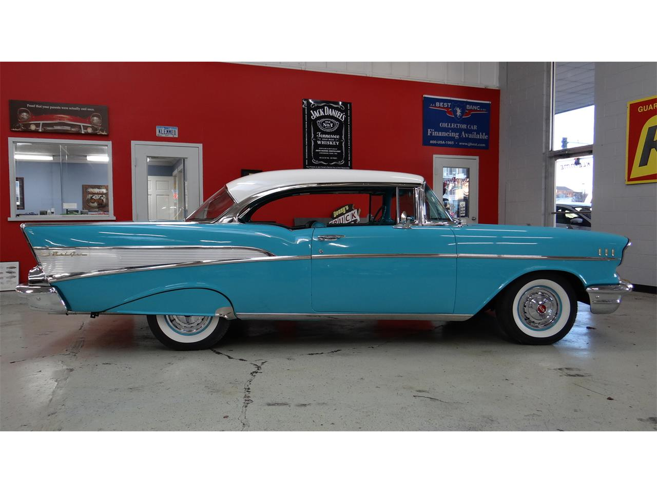 1957 Chevrolet Bel Air (CC-1265078) for sale in Davenport, Iowa