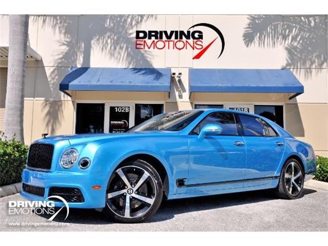 2018 Bentley Mulsanne Speed (CC-1265221) for sale in West Palm Beach, Florida