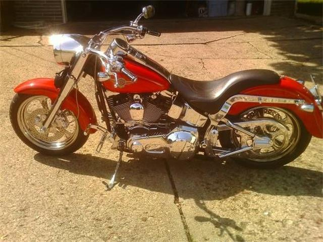 2002 Harley-Davidson Fat Boy (CC-1260552) for sale in Cadillac, Michigan