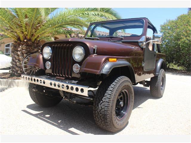 1986 Jeep CJ7 (CC-1265555) for sale in Coronado, California