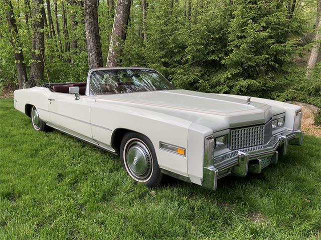 1975 Cadillac 2-Dr Convertible (CC-1265556) for sale in Atkinson , New Hampshire