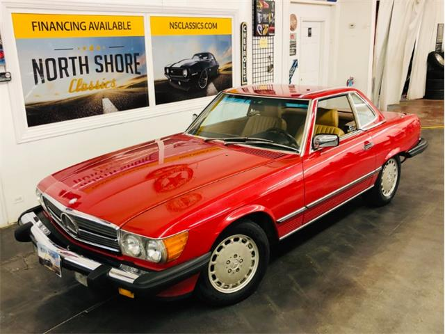 1988 Mercedes-Benz 560 (CC-1265685) for sale in Mundelein, Illinois