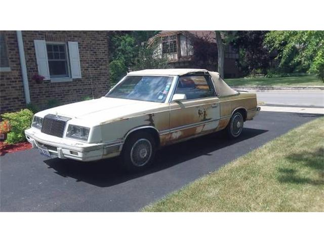 1982 Chrysler LeBaron (CC-1260578) for sale in Cadillac, Michigan