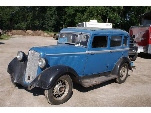 1933 Plymouth Sedan