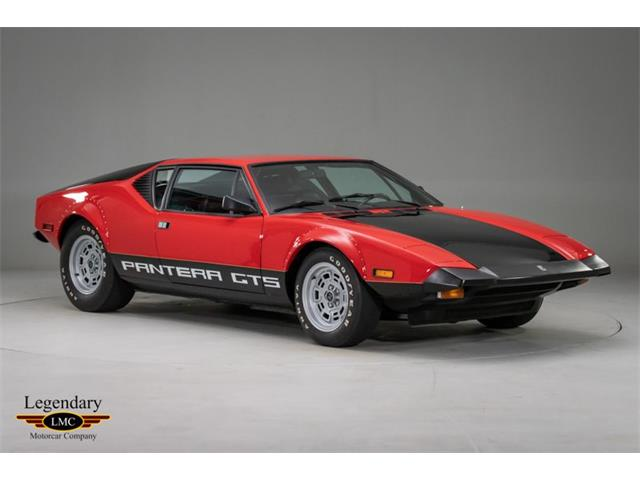 1974 De Tomaso Pantera (CC-1265872) for sale in Halton Hills, Ontario