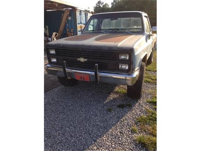1983 Chevrolet Silverado (CC-1260061) for sale in Cadillac, Michigan