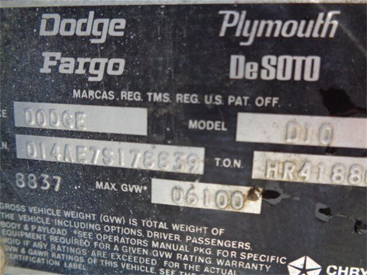 1977 Dodge 100 (CC-1266274) for sale in Staunton, Illinois