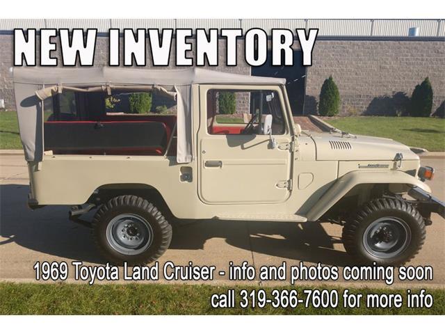 1969 Toyota Land Cruiser FJ (CC-1266321) for sale in Cedar Rapids, Iowa