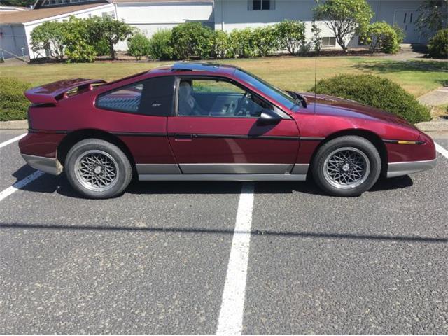 1987 Pontiac Fiero (CC-1260647) for sale in Cadillac, Michigan