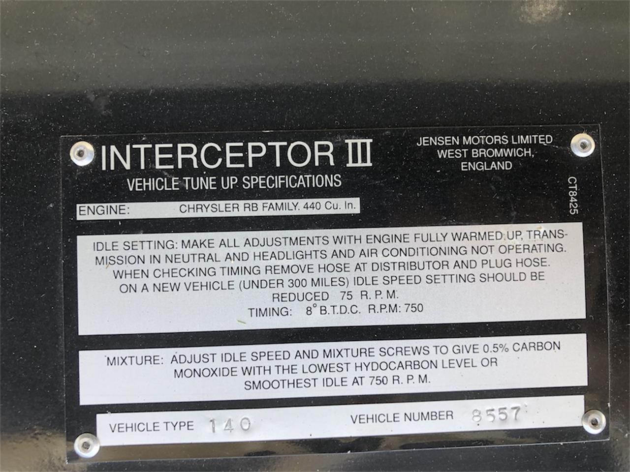 1973 Jensen Interceptor (CC-1266561) for sale in Southampton, New York