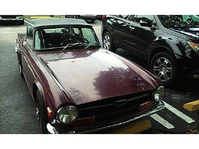 1969 Triumph TR6 (CC-1266687) for sale in Long Island, New York