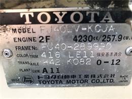 1978 Toyota Land Cruiser FJ40 (CC-1260686) for sale in Cadillac, Michigan