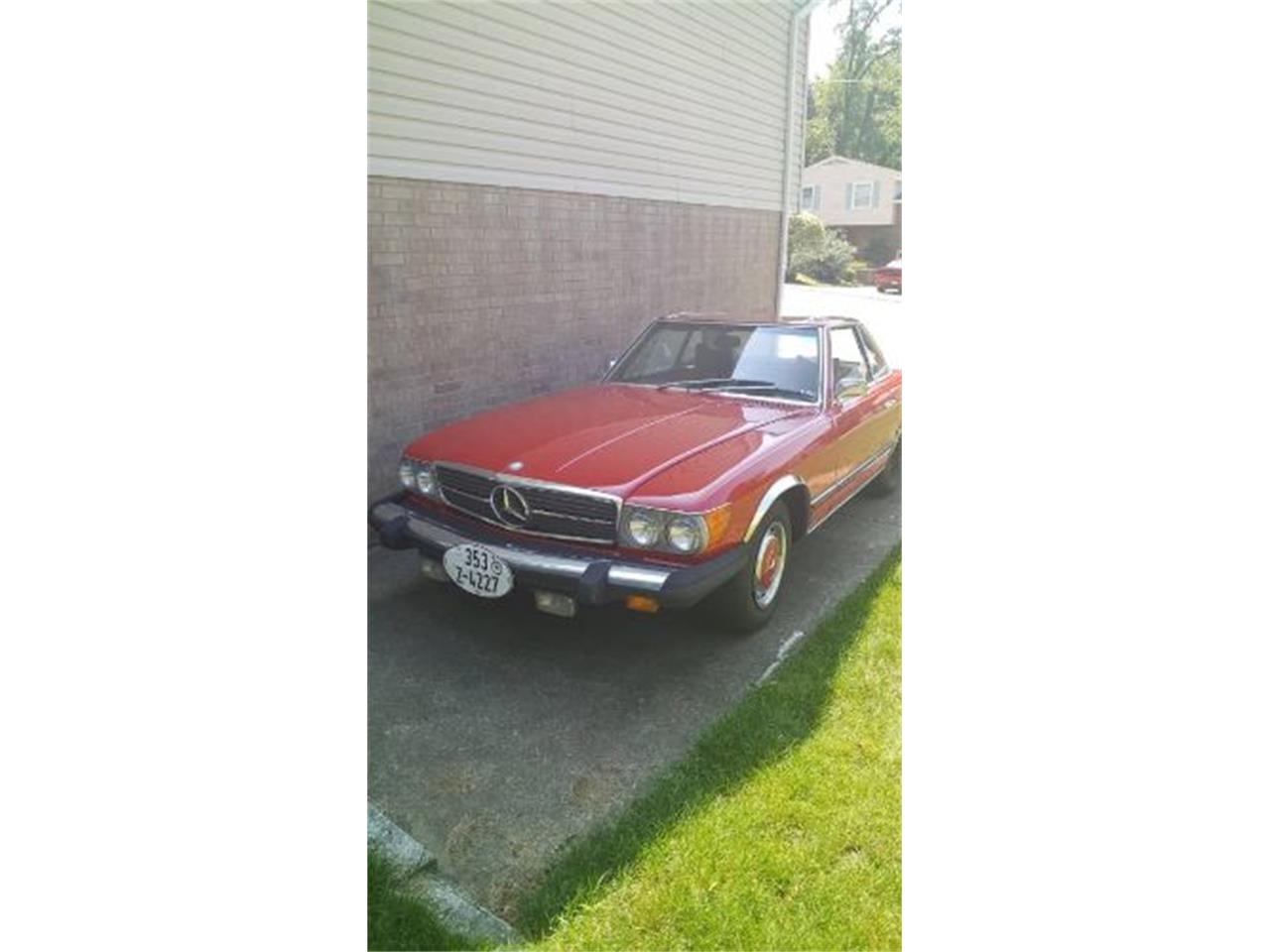 1976 Mercedes-Benz 450SL (CC-1260007) for sale in Cadillac, Michigan