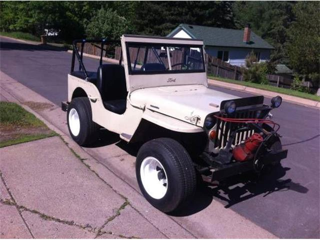 1942 Jeep CJ (CC-1267027) for sale in Cadillac, Michigan