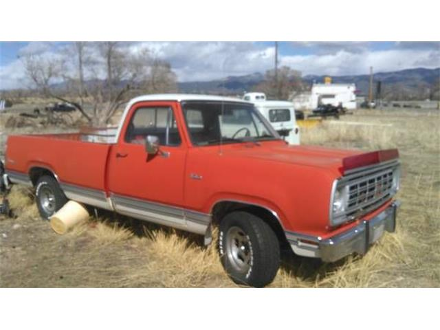 1976 Dodge D/W Series (CC-1267032) for sale in Cadillac, Michigan