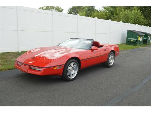 1990 Chevrolet Corvette (CC-1267191) for sale in Cadillac, Michigan