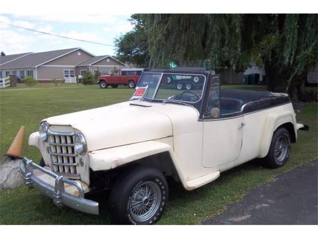 1951 Willys Jeepster (CC-1260725) for sale in Cadillac, Michigan