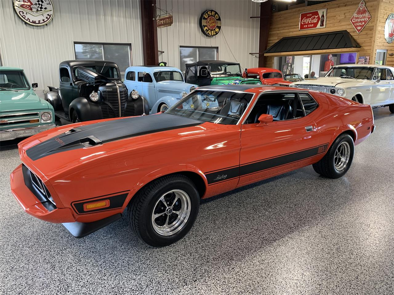 1973 Ford Mustang Mach 1 (CC-1267258) for sale in Hamilton, Ohio