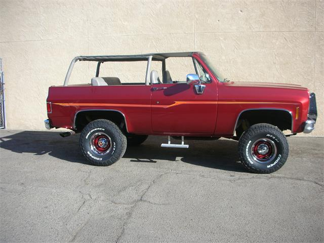 1974 Chevrolet Blazer (CC-1267387) for sale in FRESNO, California