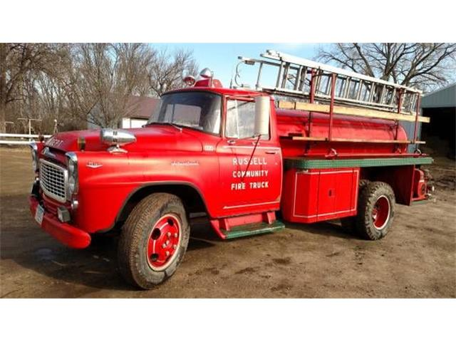 1960 International Fire Truck (CC-1267486) for sale in Cadillac, Michigan