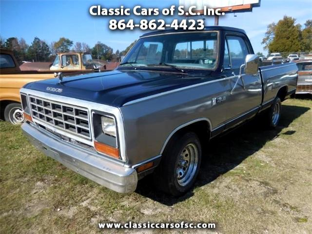 1984 Dodge D150 (CC-1267604) for sale in Gray Court, South Carolina