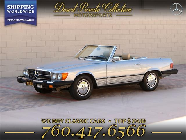 1983 Mercedes-Benz 380SL (CC-1267691) for sale in Palm Desert , California