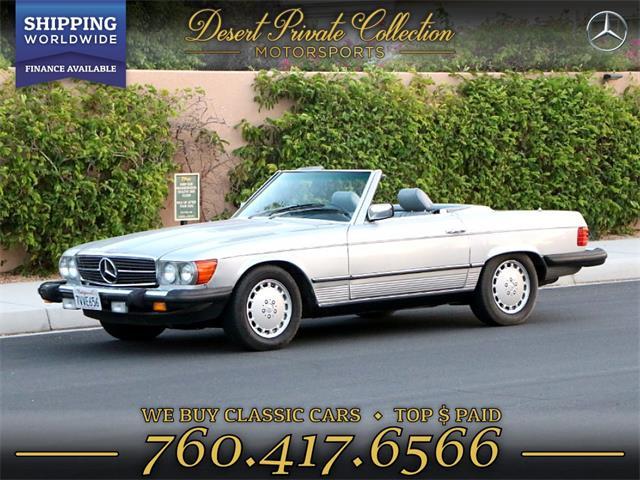 1983 Mercedes-Benz 380SL (CC-1267700) for sale in Palm Desert , California