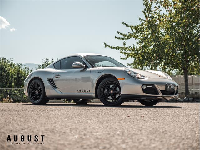 2012 Porsche Cayman (CC-1267893) for sale in Kelowna, British Columbia