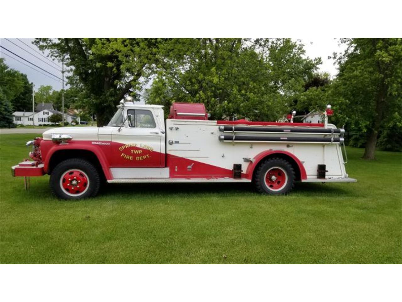 1963 GMC Fire Truck (CC-1260805) for sale in Cadillac, Michigan
