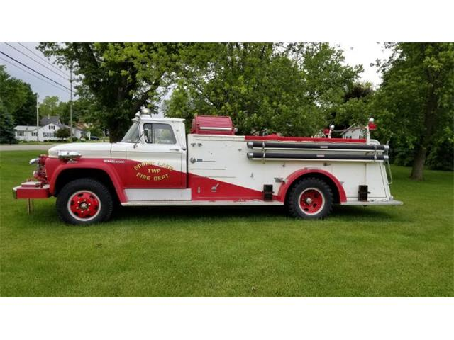 1963 GMC Fire Truck (CC-1260805) for sale in Cadillac, Michigan