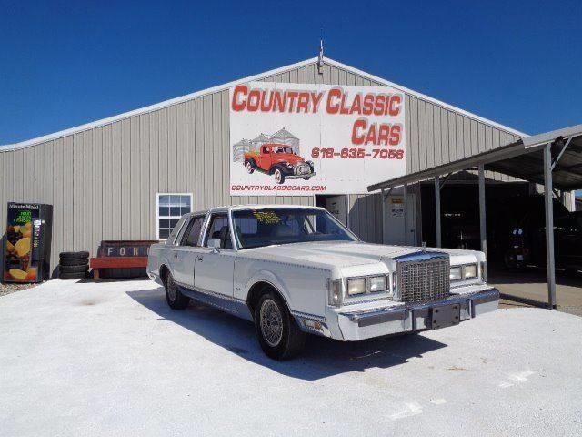 1987 Lincoln Town Car (CC-1268570) for sale in Staunton, Illinois