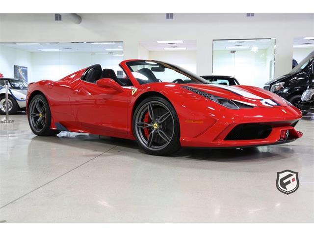 2015 Ferrari 458 (CC-1268695) for sale in Chatsworth, California