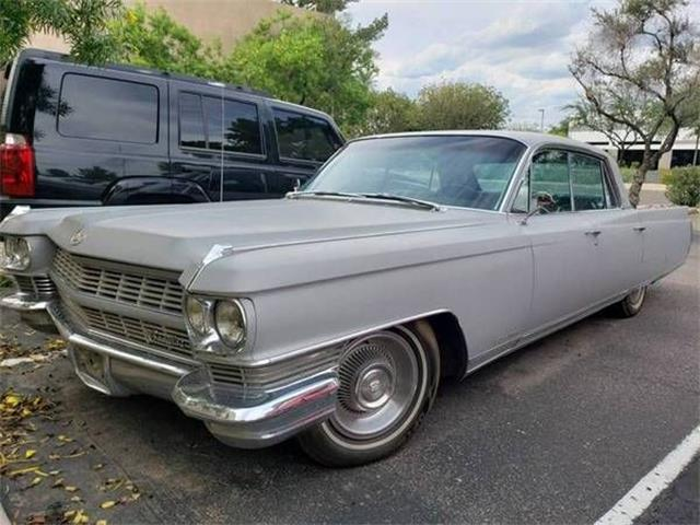 1964 Cadillac Fleetwood (CC-1268720) for sale in Cadillac, Michigan