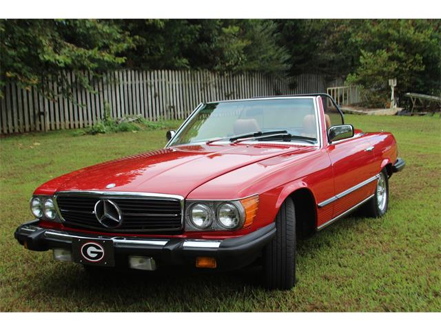 1984 Mercedes-Benz 380SL (CC-1269503) for sale in Ellijay, Georgia