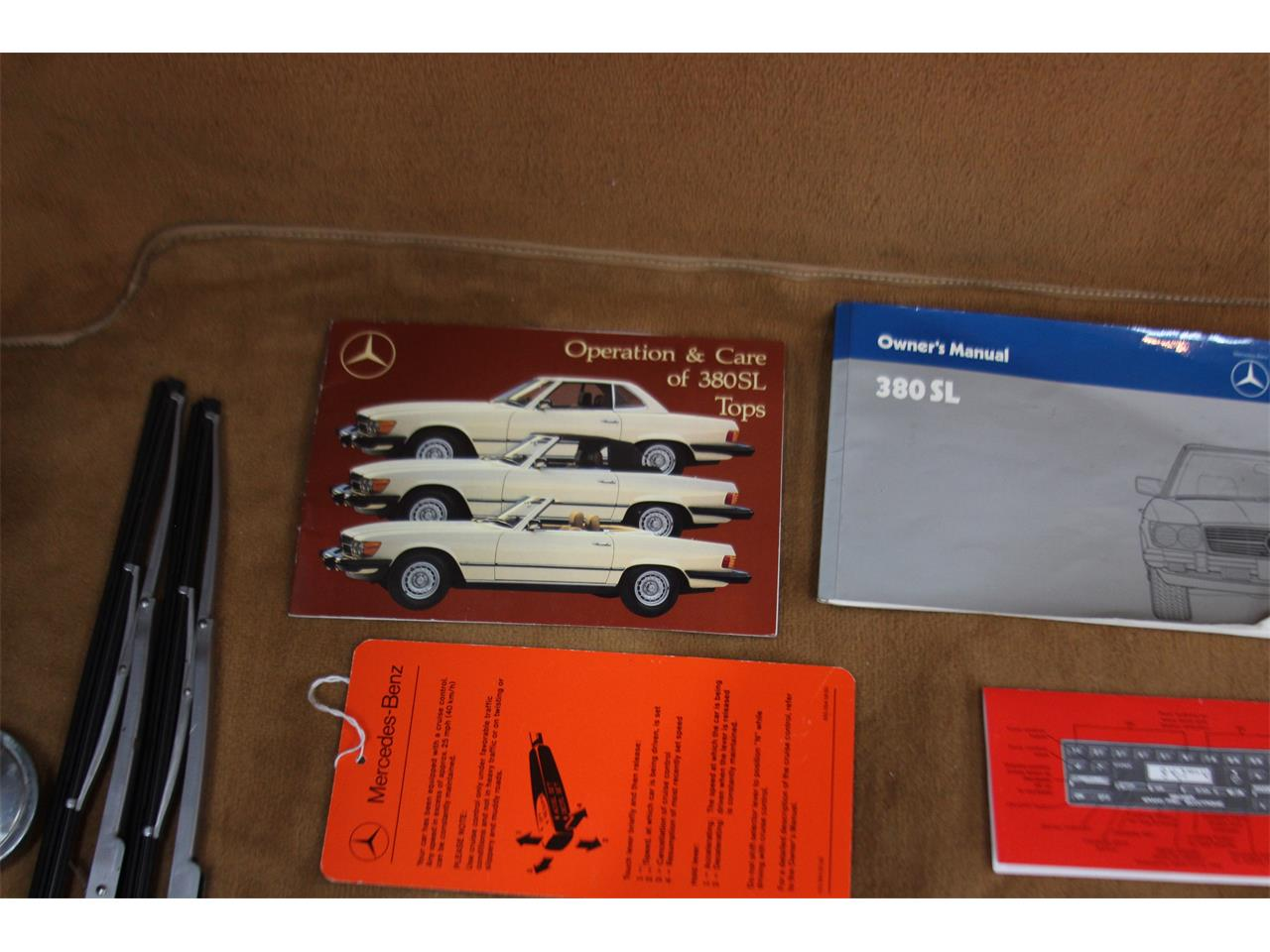 1984 Mercedes-Benz 380SL (CC-1269503) for sale in Ellijay, Georgia