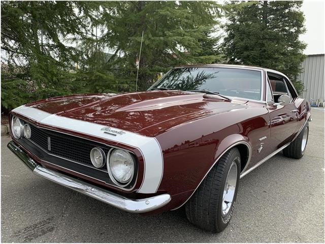 1967 Chevrolet Camaro (CC-1269974) for sale in Roseville, California