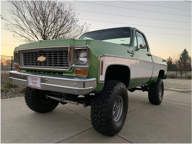 1974 Chevrolet K-10