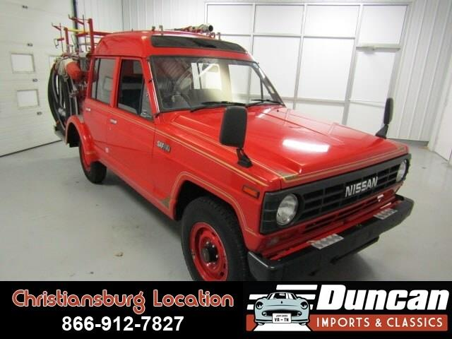 1986 Nissan Safari (CC-1271003) for sale in Christiansburg, Virginia