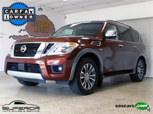 2017 Nissan Armada (CC-1271009) for sale in Hamburg, New York
