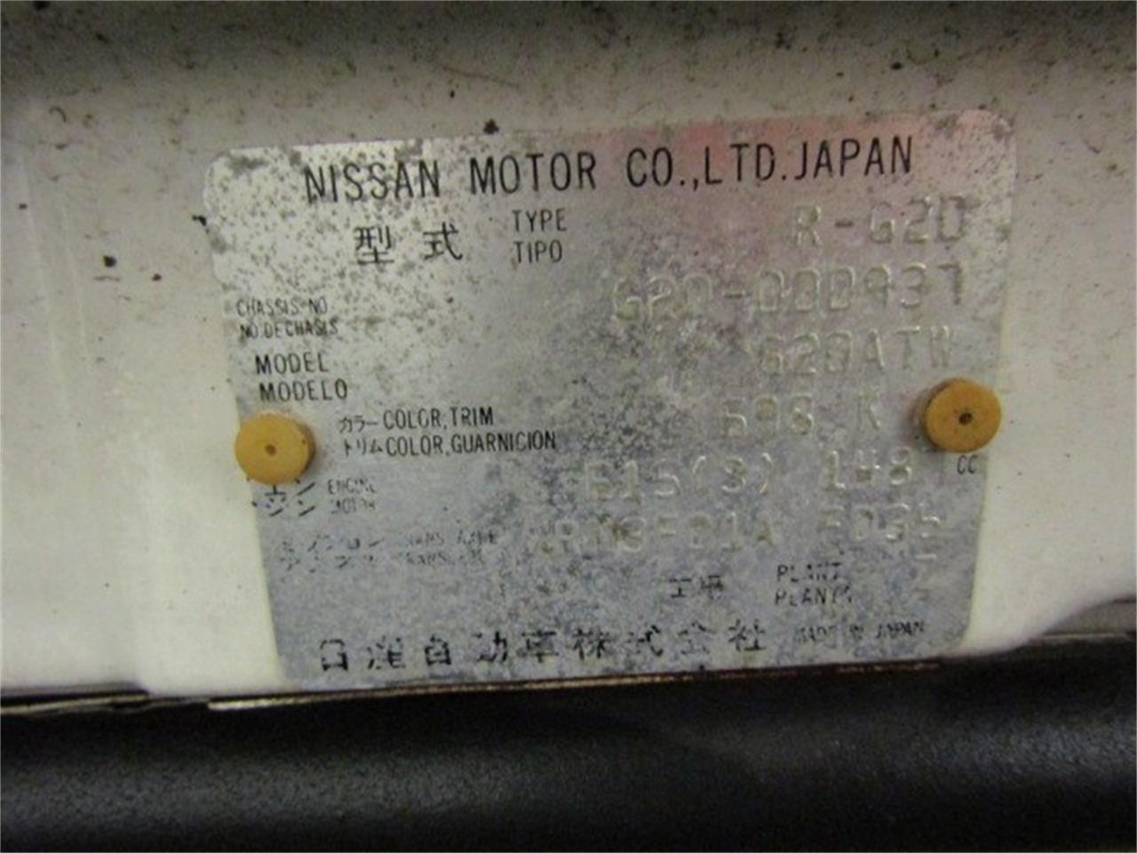1989 Nissan S-Cargo (CC-1271061) for sale in Christiansburg, Virginia