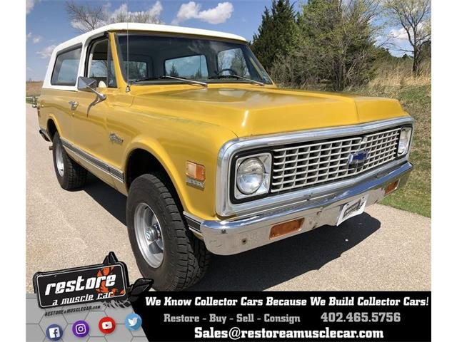 1972 Chevrolet Blazer (CC-1271219) for sale in Lincoln, Nebraska