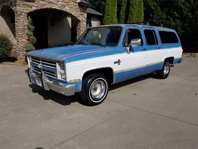 1986 Chevrolet Suburban (CC-1271295) for sale in Taylorsville, North Carolina