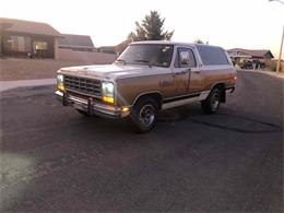 1985 Dodge Ramcharger (CC-1271360) for sale in Victorville, California