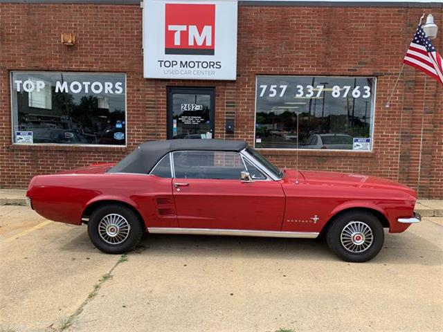1967 Ford Mustang (CC-1270150) for sale in Portsmouth, Virginia