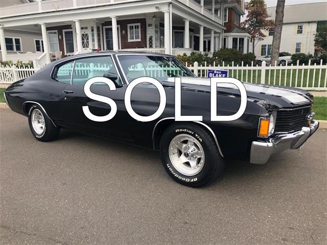 1972 Chevrolet Chevelle (CC-1272060) for sale in Milford City, Connecticut